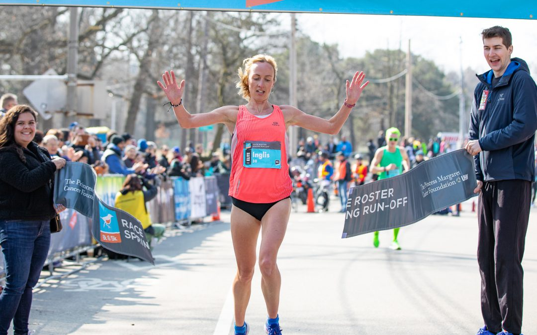 Tristan Woodfine three-peats while Sara Inglis impresses at Race Roster Spring Run-Off