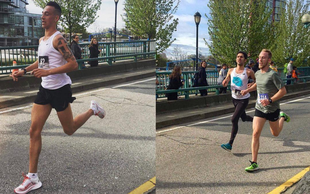 Mustang Endurance athletes set personal bests at Vancouver Sun Run!