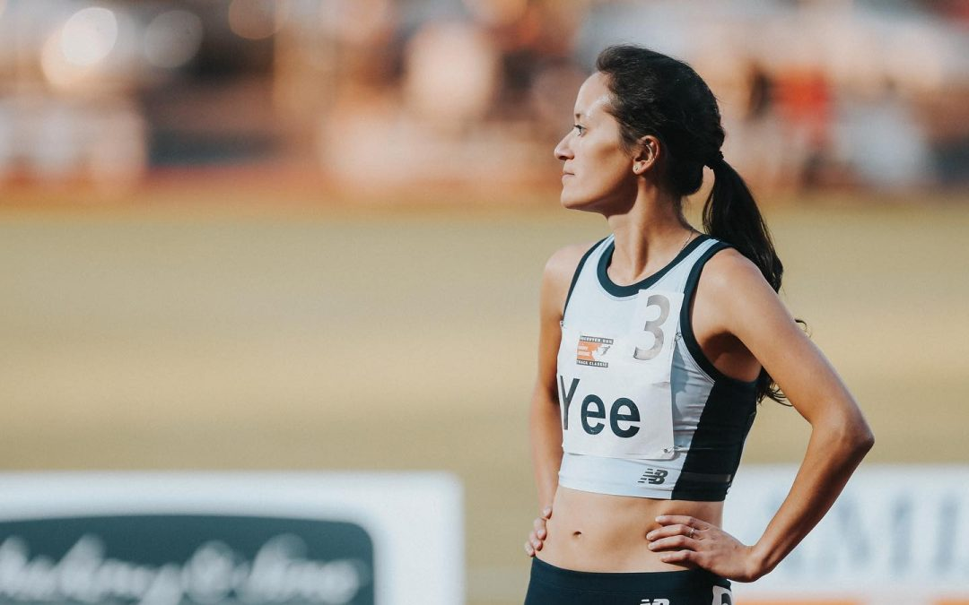 Yee competes at the IAAF World Championships in Doha!