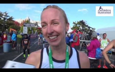 Sarah Inglis Interview: 2019 Goodlife Fitness Victoria 8km