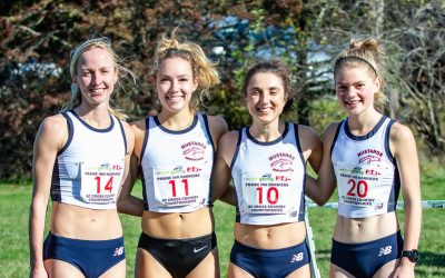 MUSTANG ENDURANCE WOMEN SWEEP PODIUM WITH 1-2-3 AT BC XC!